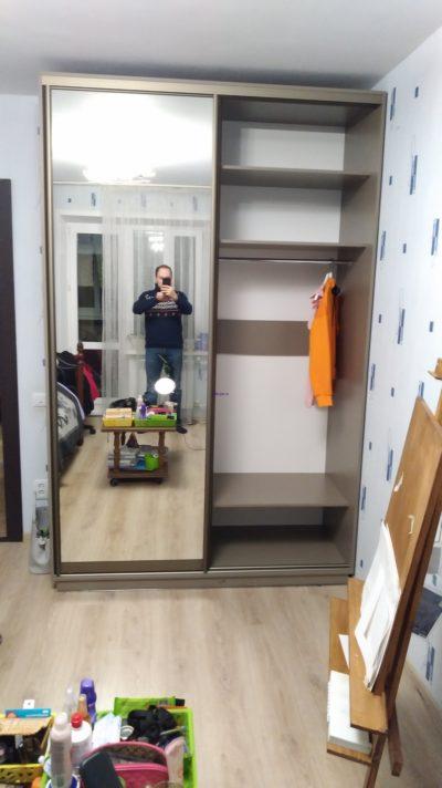 двухдверной шкаф купе