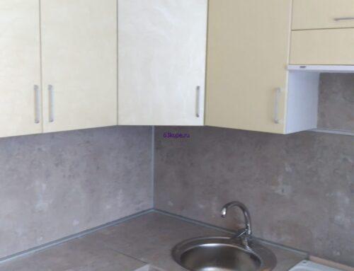 Угловая кухня в панельный дом