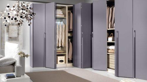 шкаф со складными створками