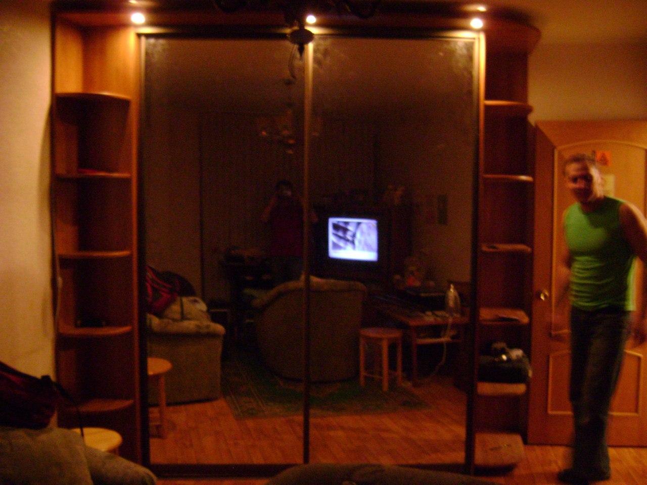 большой угловой шкаф купе