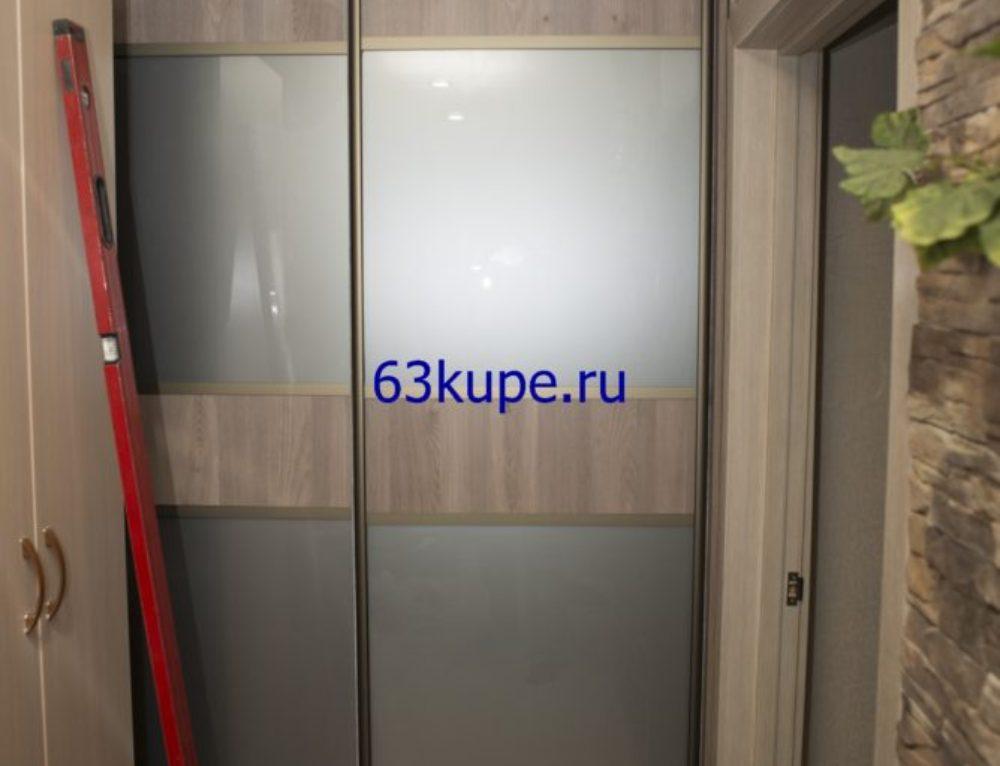 Гардеробная в узкий коридор